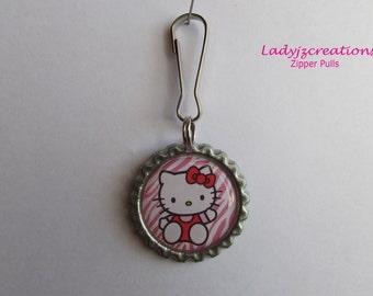Hello Kitty Zipper Pulls