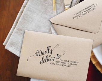 Diy wedding etsy wedding envelopes diy wedding envelope addressing template diy wedding address envelope printable envelope solutioingenieria Images