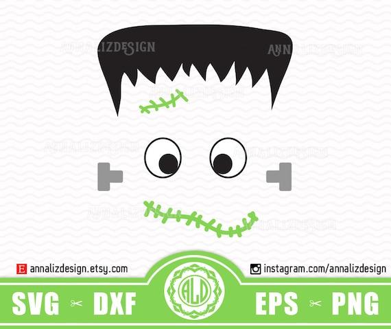 Frankenstein Head Silhouette
