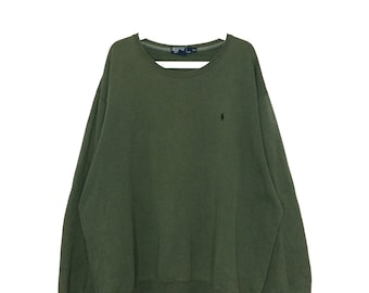 Vintage Polo ralph lauren oversize sweatshirt crewneck
