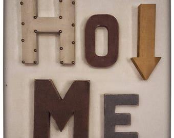 Home Paper Maché Decor | Letter Decor| Wall Collage Decor| Wall Decor |  Paper