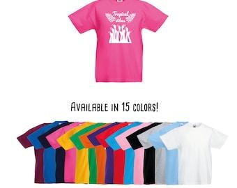 Tropical vibes shirt, tropical shirt, flamingo shirt, flamingo flock, summer shirt, beach shirt, kids shirt, kids beach wear, kids palm tee
