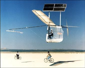 Poster, Many Sizes Available; Gossamer Pinguin Solar Plane 1979