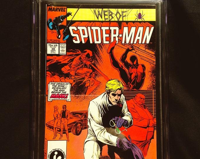 Web of Spiderman #30 CGC 9.4