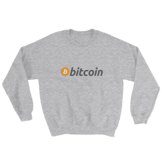 Bitcoin crypto-currency Digital Coin BTC Sweatshirt Sweater