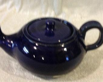 Cobalt Blue 2 cup teapot