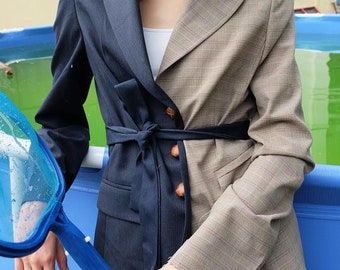 Upcycled blazer