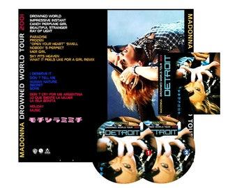 Drowned World Tour Detroit Double CD - Madonna