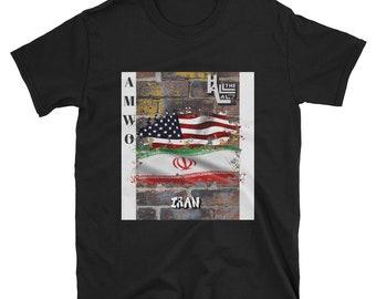 AMWO T-shirt - USA/Iran