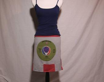 Grateful Dead Ripple T Shirt Skirt