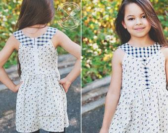 Moya Dress and Tunic, Sizes 2T-8Y, 10 & 12