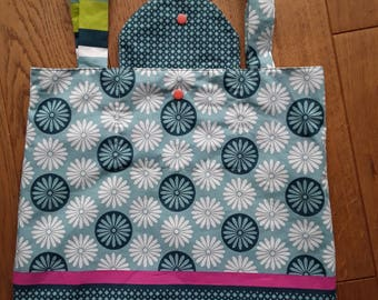 Foldable bag - reversible shopping bag Tote