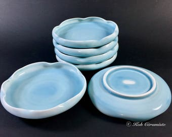 Celadon porcelain plate