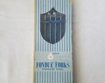 Vintage Fondue Forks