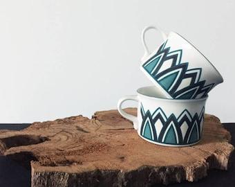 Mikasa Dorado Mugs - Pair