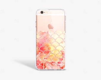 Yellow iPhone 7 Case Clear iPhone 8 Case Clear iPhone 7 Plus Clear Case Gift for Her iPhone X Case Samsung Galaxy S8 Case Samsung S9 Case
