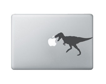 Tyrannosaurus Rex Laptop Decal - Dinosaur Macbook Sticker