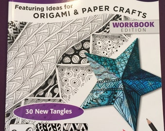 SALE! Zentangle 10  Featuring 30 New Tangles and Ideas for Origami and Paper Crafts was 8.95 now 6.50