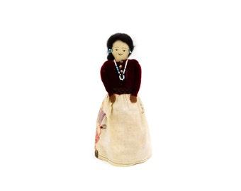 Native American Navajo Female Cloth Doll