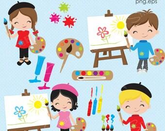 painting clipart etsy rh etsy com Coat Clip Art Paper Clip Art