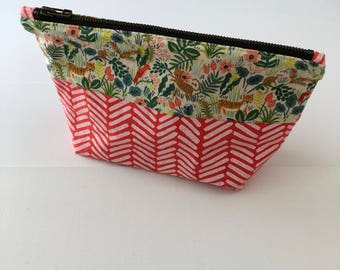 Zippered Pouch - Tigers
