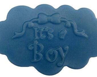 It's A Boy!!  Gentle Herbal Baby Soap