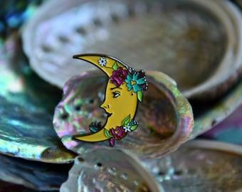 SUMMER MOON - Hippie Witch Club Soft Enamel Pin