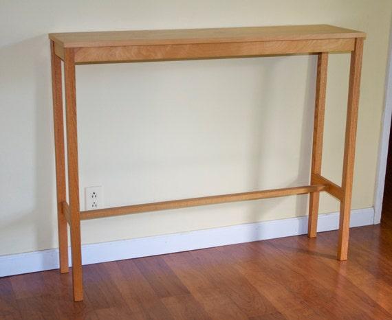 Tall Narrow Console Table