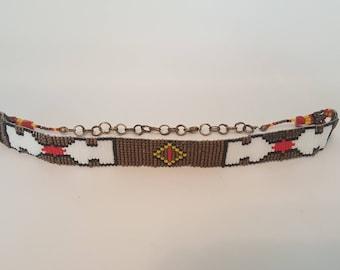 Indie chocker necklace