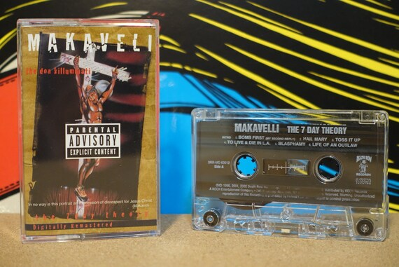 The Don Killuminati (The 7 Day Theory) by Makaveli Vintage Cassette Tape