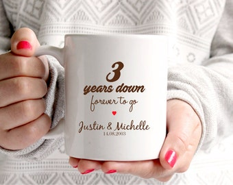 3rd year wedding anniversary gifts for her