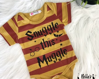 Baby Outfit - Outfit - Baby Clothes - Snuggle This Muggle - Baby Body Suit - Baby Boy Clothes - Baby Girl Clothes - Unisex Baby Outfit