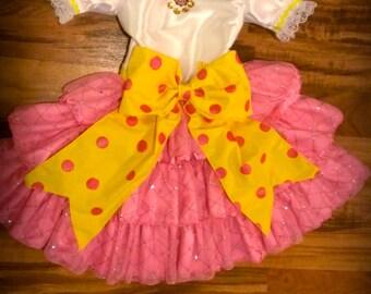 Fancy Nancy's Tea Party Dress
