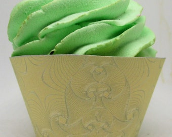 Children's Hands Cupcake Wrappers and Toppers, Happy Mother's Day, Mother, Mom,  Lace  6 Colors 0627