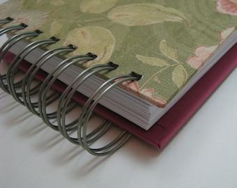 Planner - Pocket Size - Agenda - Weekly Planner - Organizer Planner - Weekly Agenda - Unique Planners - Organizer - Wirebound - Moss Floral
