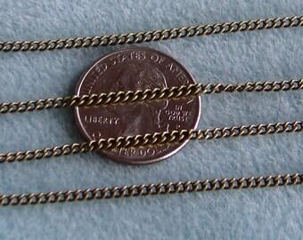 Antique Bronze Twist Gourmette chaine 2 mm x 3 mm Nickel plomb gratuit 370