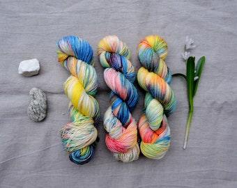 Spectrum 4ply - Hand Dyed Yarn -  100% merino wool