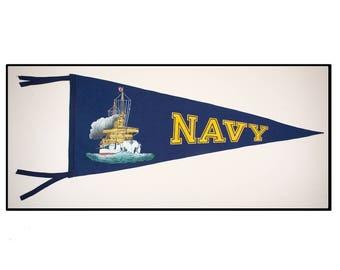 United States Navy pennant Circa 1920