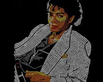 "Michael Jackson ""Thriller"" Rhinestone T-Shirt (Small - XL)"