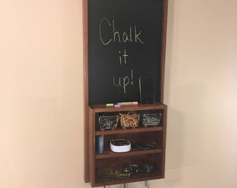 Wall Organizer, Message Board, Command Center for Entryway, Kitchen, Office or Mudroom.