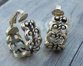 Decorative Hoop Earrings