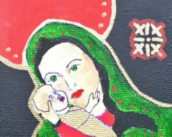 Madonna and Child Original Painting