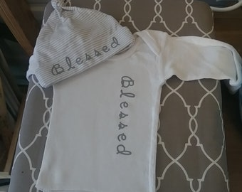 Baby long sleeve custom outfit!