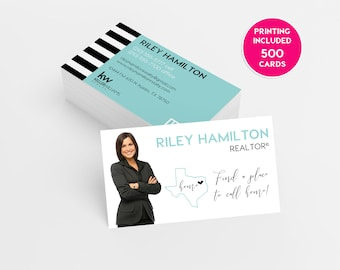 Rose gold hair stylist printed business cards business state real estate printed business cards business cardsbusiness card designcustom business reheart Image collections