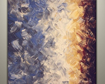"""Original Abstract Art  Painting on Gallery wrapped Canvas 24"""" x 24"""", Home Decor, Wall Art"""