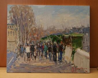 Oil on panel by Guy Legendre