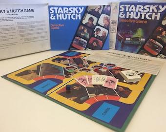 Vintage Milton Bradley 1977 Starsky & Hutch Collectors Item Boardgame