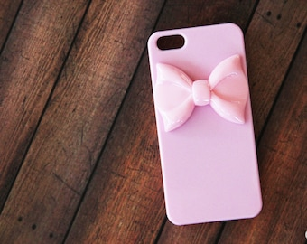 iPhone 8 Case Pink iPhone 7 Case Cute Bow iPhone Case Girly iPhone 7 Case iPhone 7 Plus Case Samsung  CaseSamsung Case Pink iPhone 6