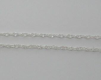 20cm chain silver twist - Ref: CA 107