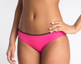 Hot Pink Panty with Black Trim - More Colors